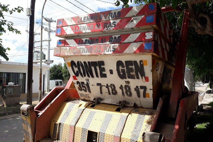 Conte Gen Contenedores en Córdoba Las Flores Zona Sur 01