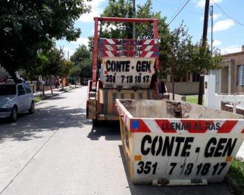 Alquiler de Contenedores en Córdoba Barrio Los Plátanos