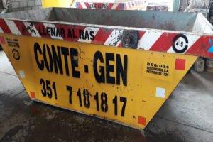 Conte Gen Contenedores en Córdoba Barrio Las Rosas