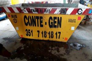 Conte Gen Contenedores en Córdoba Barrio Pueyrredón. Contenedores en Córdoba Conte Gen